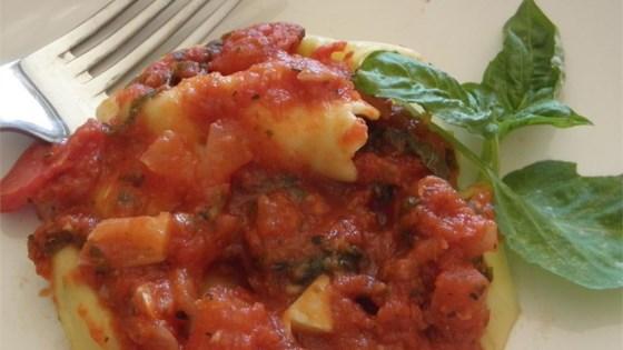 Sweet Basil Tomato Sauce