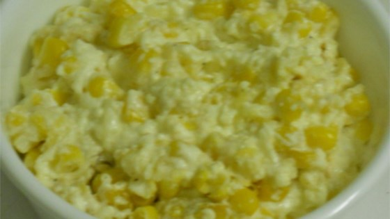 Swiss Corn Slow Cooker Casserole