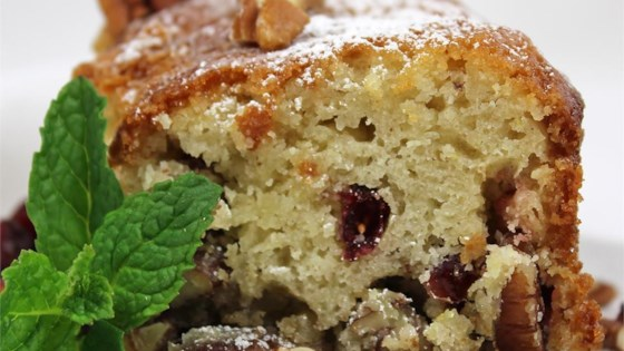 Cranberry-Pecan Olive Oil Cake