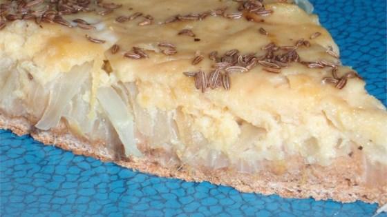 Anton's Zwiebelkuchen (Anton's Onion Pie)