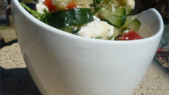 Cucumber Feta Salsa