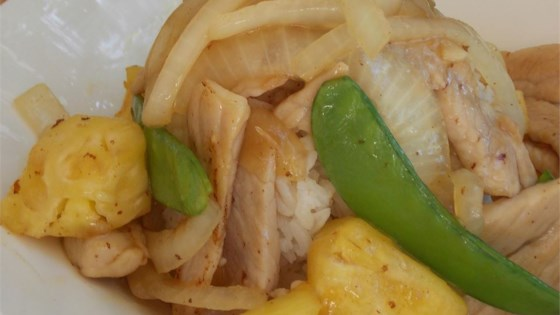 Pork & Pineapple Stir-Fry