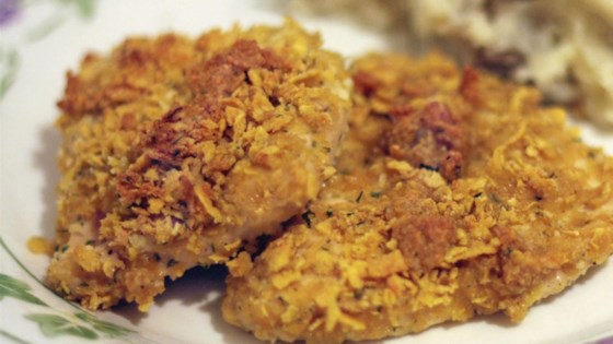 crumb coated ranch chicken recipe