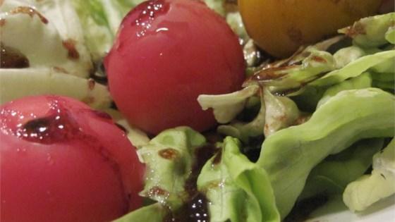 Spicy Raspberry Balsamic Dressing
