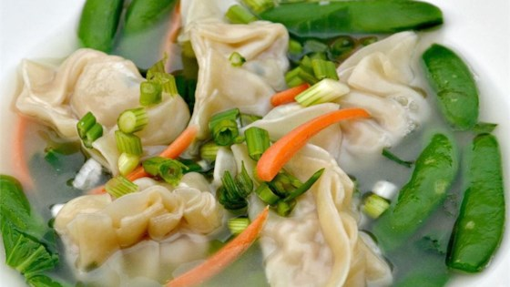 chicken and vegetable wonton soup recipe