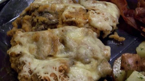 Mozzarella Mushrooms