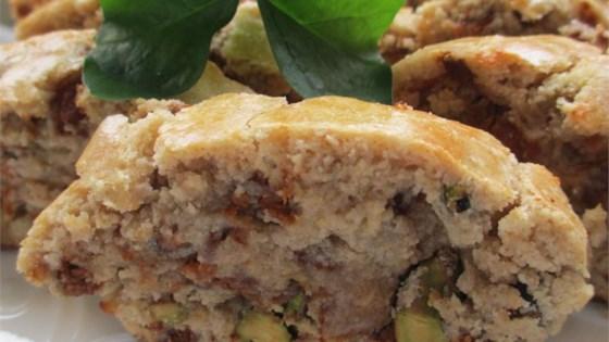 Cinnamon Biscotti with Pistachios