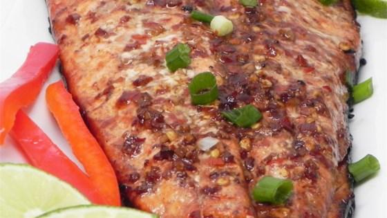 Firecracker Grilled Alaska Salmon