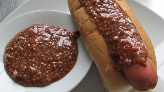 Texas Hot Wiener Sauce (Ulster County New York Style)