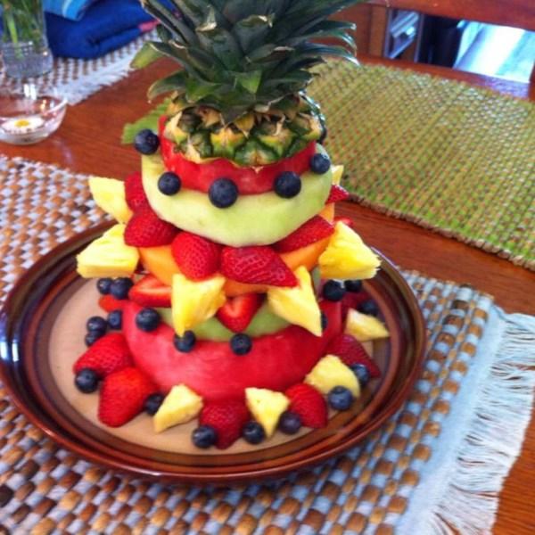 all fruit birthday cake - photo #10