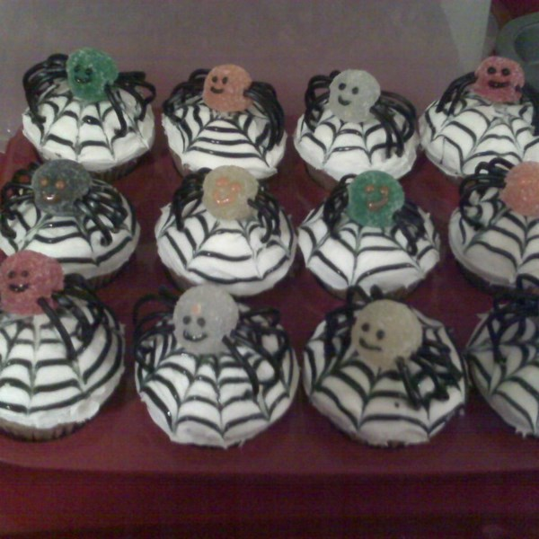 Spiced Spider Cupcakes Photos - Allrecipes.com