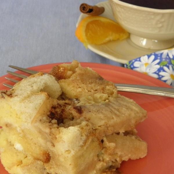 Pear Bread Pudding