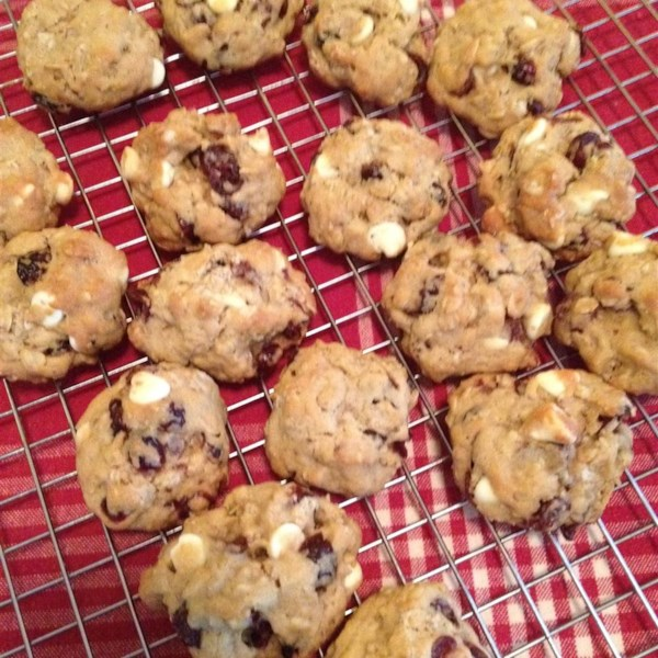 Oatmeal Cranberry White Chocolate Chunk Cookies Photos - Allrecipes ...