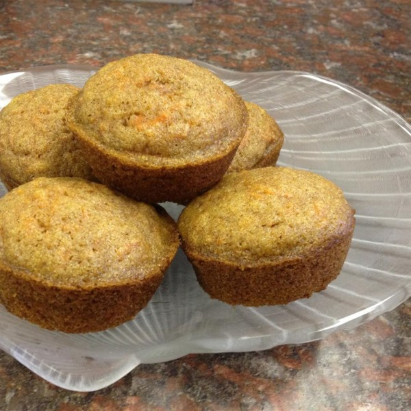 Fluffy Carrot Muffins with Cream Cheese Frosting Photos - Allrecipes ...