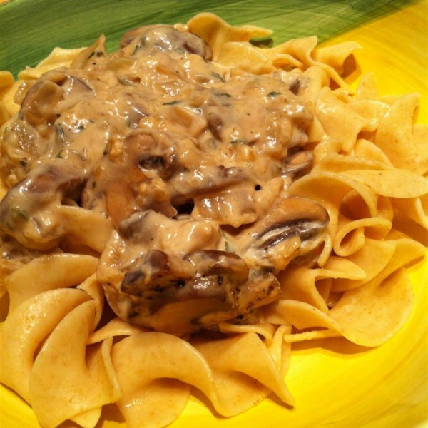 Portobello Mushroom Stroganoff Recipe — Dishmaps