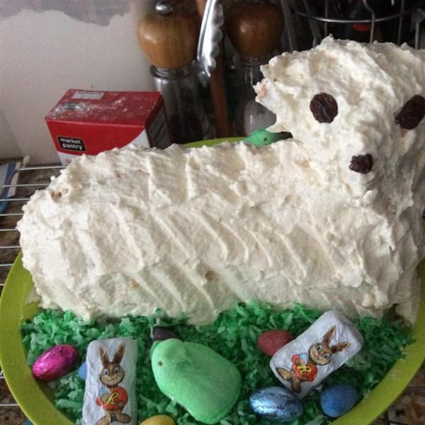 Easter Lamb Cake II Recipe — Dishmaps