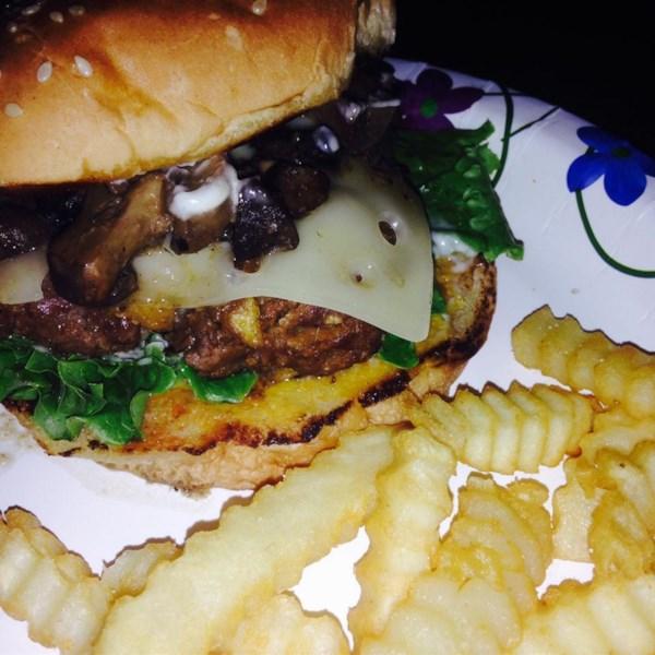 Grilled Mushroom Swiss Burgers Photos - Allrecipes.com