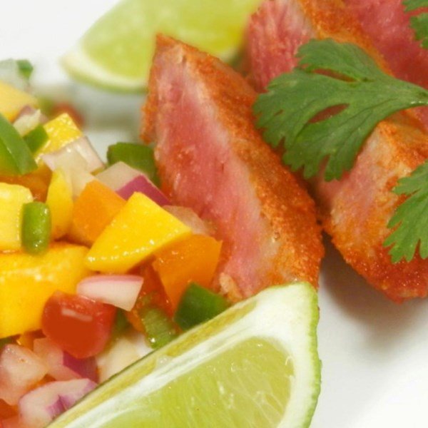 salsa de mango tuna and avocado salsa mango salsa balsamic mango salsa ...