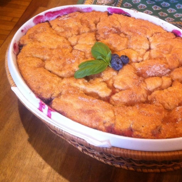 rhubarb cobbler very best blueberry cobbler recipes dishmaps very best ...
