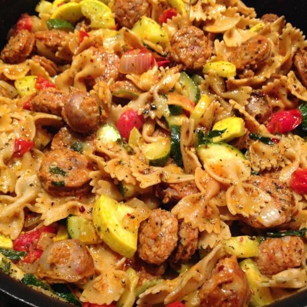 Pasta Primavera with Italian Turkey Sausage Photos - Allrecipes.com