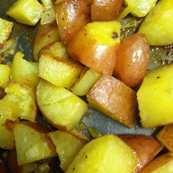 Honey Roasted Red Potatoes Recipe — Dishmaps