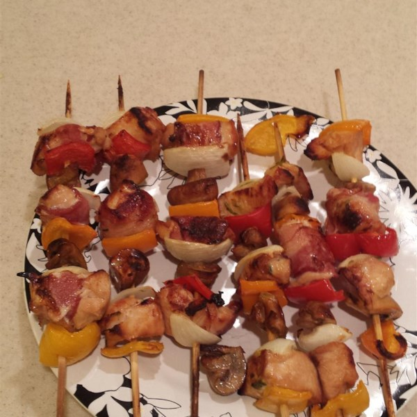 Chicken and Bacon Shish Kabobs Photos - Allrecipes.com