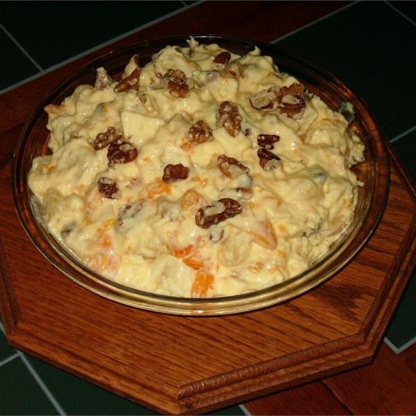 Orange Cream Fruit Salad