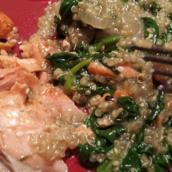 Robin's Quinoa with Mushrooms and Spinach Photos - Allrecipes.com