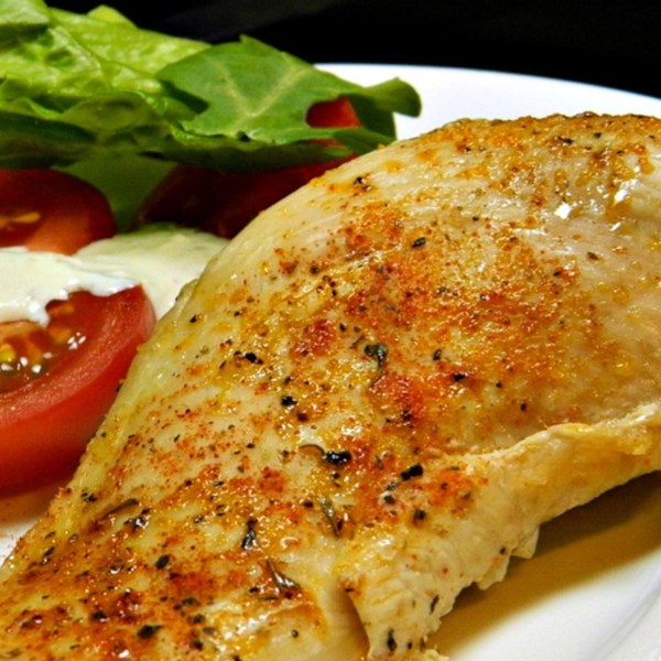 Simple baked chicken breasts photos - Easy oven dinner ...