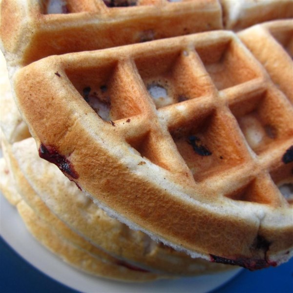Nutty Pecan Waffles Photos - Allrecipes.com