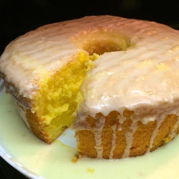 Gluten Free Egg Yolk Sponge Cake