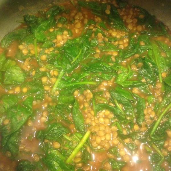 Lentils And Spinach Photos - Allrecipes.com