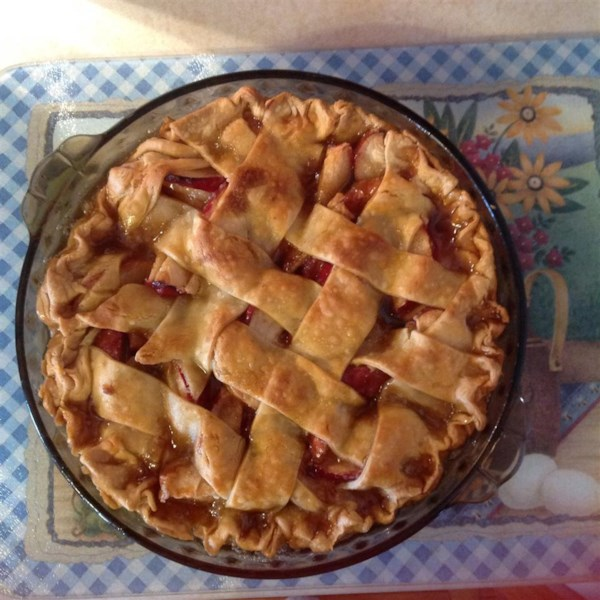 Chef John's Caramel Apple Pie