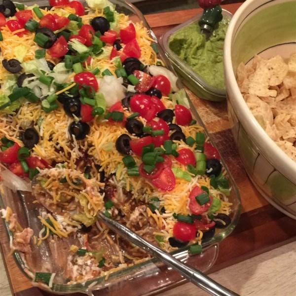 Seven Layer Taco Dip Photos
