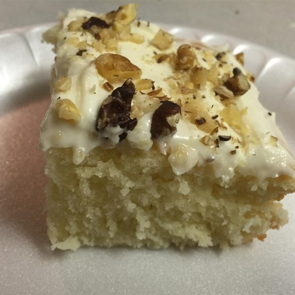 Allrecipes Recipe  White Texas Sheet Cake