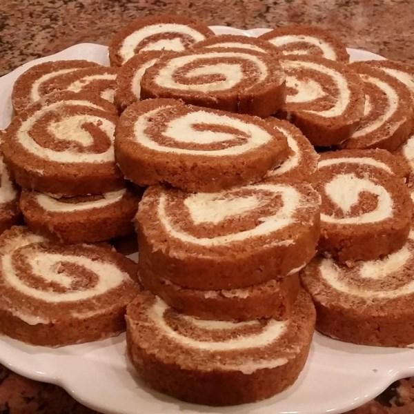 Granny kat 39 s pumpkin roll photos for Granny pottymouth bakes a vegan cake