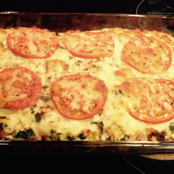 Low Fat Cheesy Spinach and Eggplant Lasagna Photos - Allrecipes.com