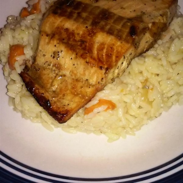 Honey-Ginger Grilled Salmon Photos - Allrecipes.com