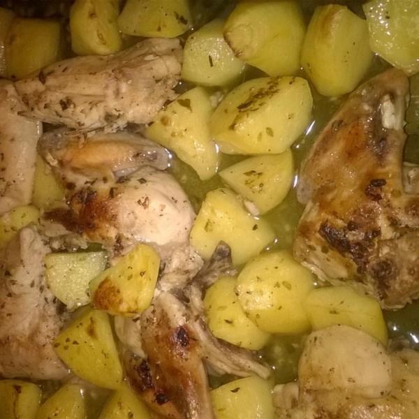 Lebanese Chicken and Potatoes Photos - Allrecipes.com
