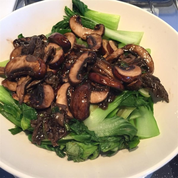 Chinese-Style Baby Bok Choy with Mushroom Sauce Photos - Allrecipes ...