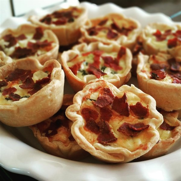 Bacon Quiche Tarts Photos - Allrecipes.com