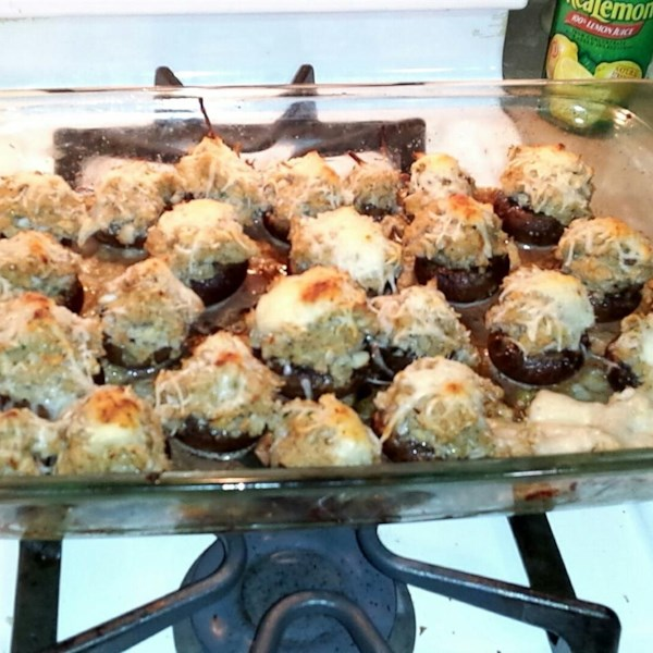 Savory Crab Stuffed Mushrooms Photos - Allrecipes.com