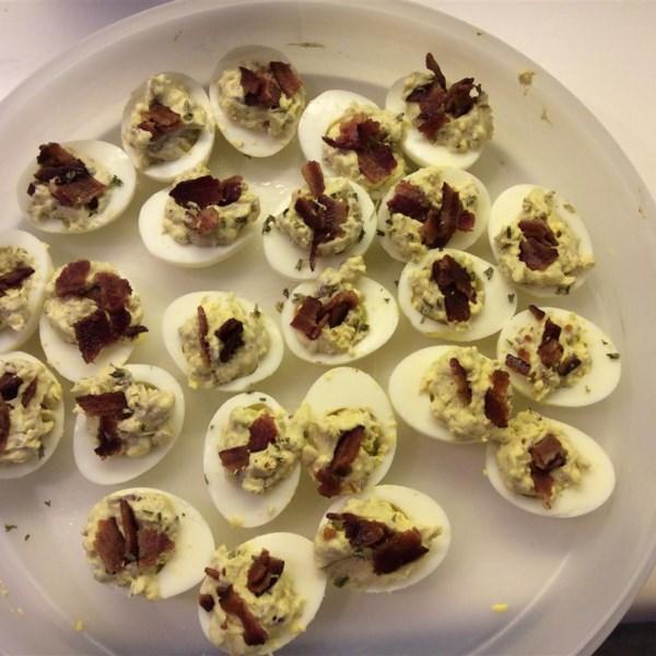 Bacon-Balsamic Deviled Eggs Photos - Allrecipes.com