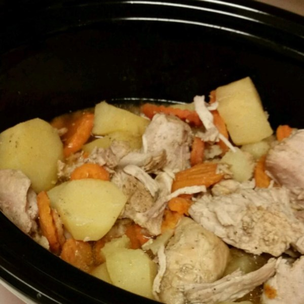 Tangy Slow Cooker Pork Roast Recipe — Dishmaps