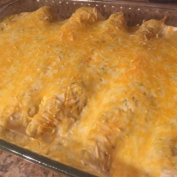 Angela's Awesome Enchiladas Recipe — Dishmaps