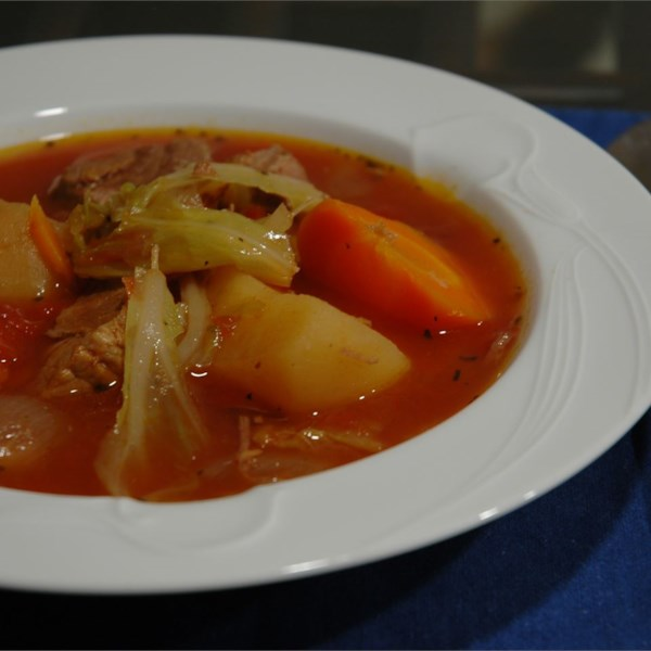 Alison's Slow Cooker Vegetable Beef Soup Recipe