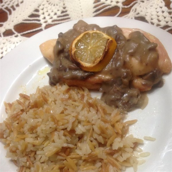 Baked Lemon Chicken with Mushroom Sauce Photos - Allrecipes.com