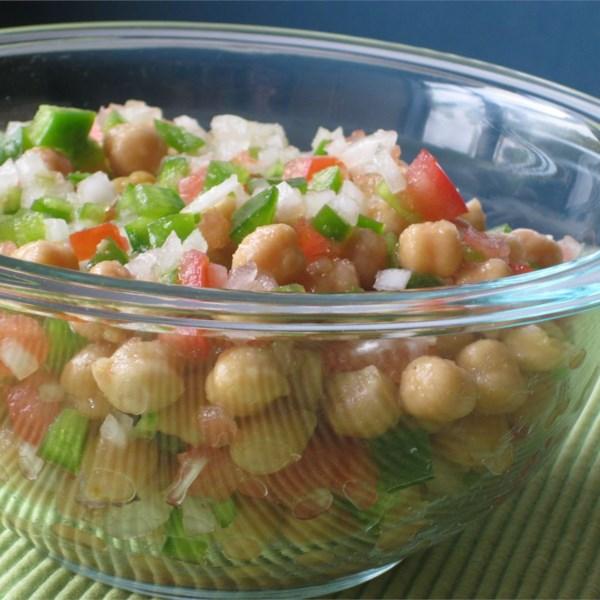 Mediterranean Chickpea Salad II