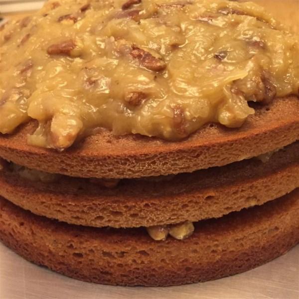 German Chocolate Cake III Recipe — Dishmaps
