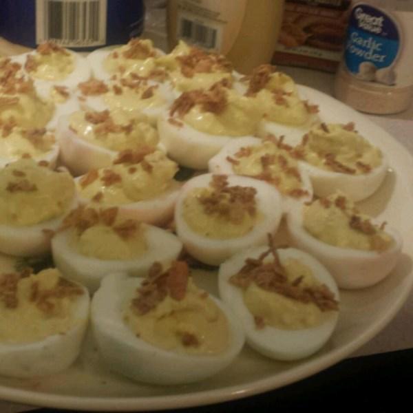 Classic Savory Deviled Eggs Recipe — Dishmaps
